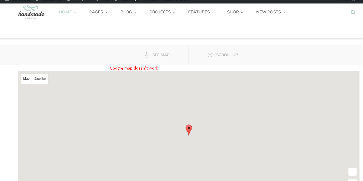How To Fix Load Google Maps Correctly GTheme Support - Google maps themes